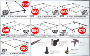 METAL SUPPORT FRAMES -  TWIN DOUBLE QUEEN KING - ALL IN PRICES