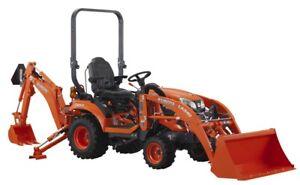 2018 Kubota BX23S Tractor, Loader, Backhoe