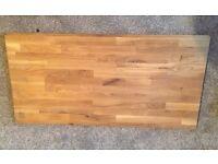 Solid Oak Worktop Offcut