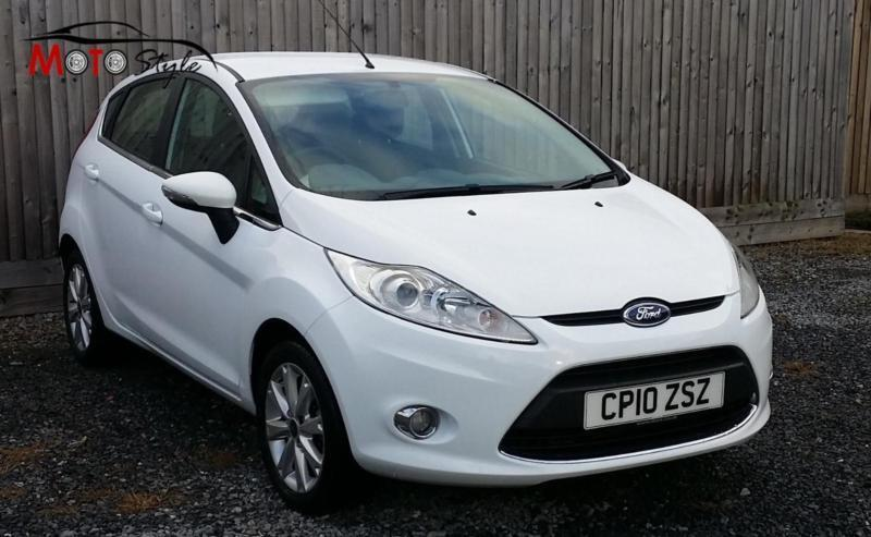 ford fiesta zetec 2010 in white in llanelli. Black Bedroom Furniture Sets. Home Design Ideas