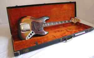 Wanted: old fender bass