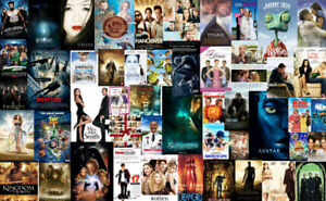 Movies and series DVD Blu-Ray