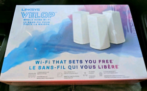 New Linksys Velop Tri-band AC6600 WiFi Mesh System 3-Pack