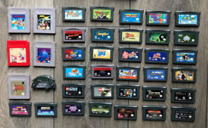 Gameboy Advance games for sale GBA - SEE DESCRIPTION FOR PRICING