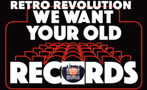 We Want Your Old Record Collections - at Retro Revolution