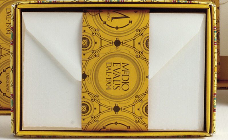 Fabriano Medioevalis Envelope Box of 100 6.5 x 8.5 Inches
