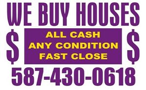 % I BUY HOUSES! top dollar paid. Why fix when you can sell as is