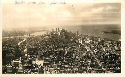 Empire State Building 1930S Manhattan New York Rppc Real Photo Postcard 5526