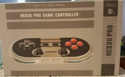 8Bitdo NES30 Pro Game Controller - Brand New