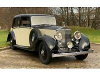 1937 Rolls-Royce 25/30 Mann Egerton Saloon