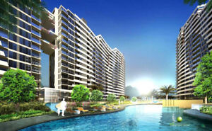 The Lake, Luxury Apartments from  New Chandigarh India