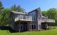 *NEW PRICE*COUNTRY LIVING AT IT'S BEST!BEAUTIFUL WATERFRONT HOME