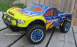 New RC Short Course Truck, Brushless Electric 4WD 2.4G LIPO Windsor Region Ontario image 4