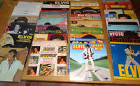 ELVIS PRESLY, LOT de 39 DISQUES VINYLE