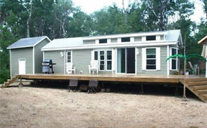 Cozy Cabin for Sale at St. Brieux Lake