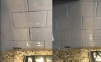 Tile Install, Repair and Grout Cleaning