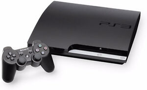 PS3 Slim 160GB System with one Controller and games