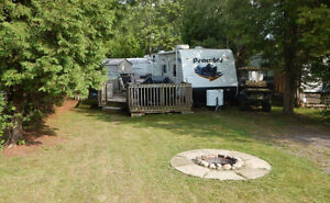 REDUCED!!  Family Trailer at Happy Hills Resort