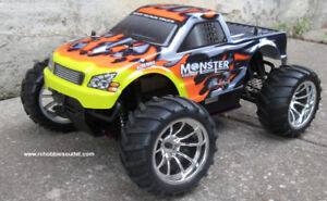 New Nitro Gas RC Truck 3.0cc Engine 4WD 2.4G Fast RC