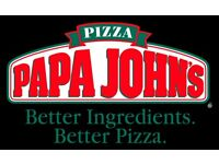 Delivery Driver wanted for Papa Johns
