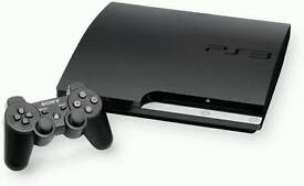 Sell playstation 3 with 320gb memory, 4 joistik and 8 games