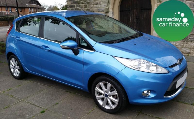 per month blue 2009 ford fiesta 1 2 zetec 5 door. Black Bedroom Furniture Sets. Home Design Ideas