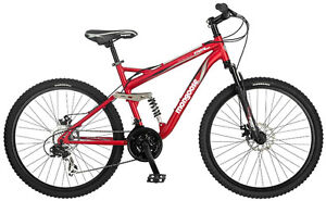 Mongoose XR-75, Dual Suspension Mountain Bicycle, 21 speed