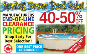 Spring Fever Pool Sale