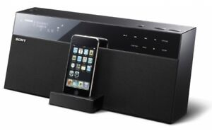 Sony NAS SV20i docking station for iPod, iPhone, media player.