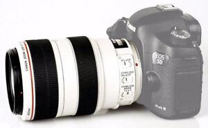 Canon EF 70-300mm f/4-5.6 L IS USM Lens + Tripod Ring + Filter