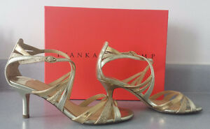BRAND NEW IN BOX, Ivanka Trump, Gold, Evening Heels, Size 6