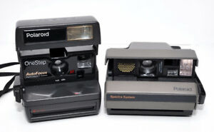 Polaroid Spectra and One Step cameras