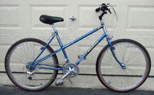 Raleigh Rocky ---  bicycle made in Canada