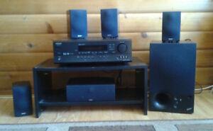 Onkyo TX-SR500 Reciever & Surround Sound