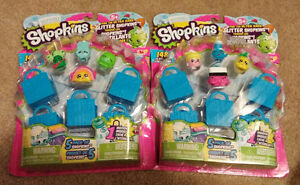 2 Shopkins Season 1 5-Packs - New