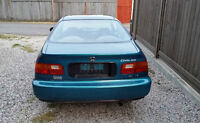 1995 Honda Civic DX Special 2 Door Coupe Auto Teal