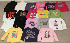 LONG SLEEVE SHIRTS CHILDRENS PLACE/CARTERS/OLD NAVY/GEORGE SZ 4T