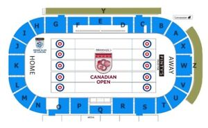 2 Tickets ALL Draws Canadian Open Curling Grand Slam Camrose