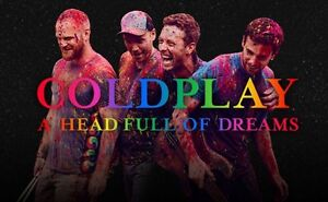 *** COLDPLAY ''A HEAD FULL OF DREAMS'' AU CENTRE BELL ***