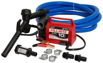 New Tuthill Fill Rite Fr1614 Usa Portable 12v Dc Battery Fuel Transfer Pump