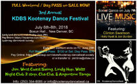3rd Annual Kootenay Dance Beat Festival in New Denver, BC