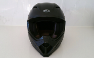 BELL HELMET MX 9 BARRICADE MATTE BLACK North Turramurra Ku-ring-gai Area Preview