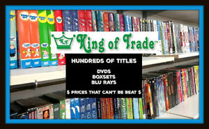 Box Sets for $4.99 each!  / DVDS only $1 each! -  King of Trade!