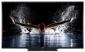 """LIKE NEW Sharp TV 65"""" Smart with NETFLIX Built IN!"""