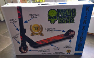 MADD Gear Kick Extreme Black Scooter BRAND NEW