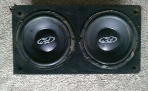 Two 10inch subs with amp NEED GONE ASAP