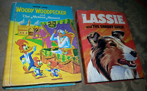 67/68 LASSIE / WOODY WOODPECKER WHITMAN BOOKS