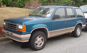 Anyone Have A 91-92-93-94 Ford Explorer They Want To Sell?