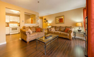 IMMACULATE ONE BEDROOM CONDO. PET FRIENDLY LOW CONDO FEES