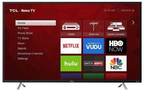"""BRAND NEW - 55"""" TCL 4K HDR 120Hz SMART LED TV - 120 - WITH BOX"""
